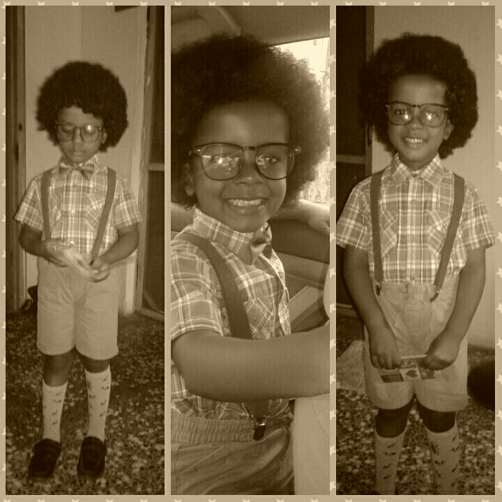Ikem's Old School Costume